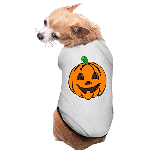 Halloween Pumpkin Dog Outfit Soft Cotton (Pumpkin Outfit For Dogs)