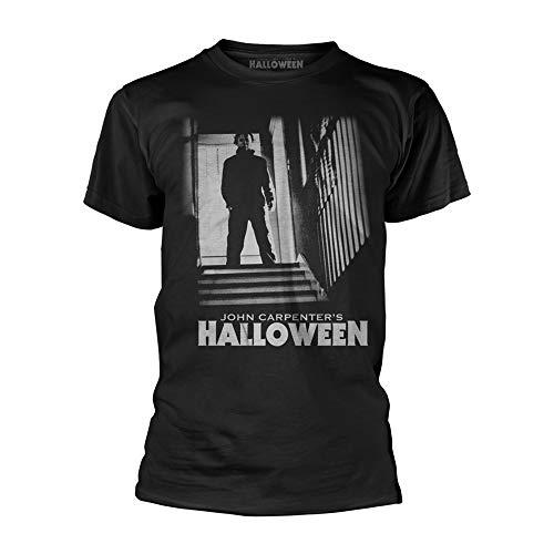 John Carpenters Halloween Michael Myers Stand Official Tee T-Shirt Mens Unisex (X-Large) -