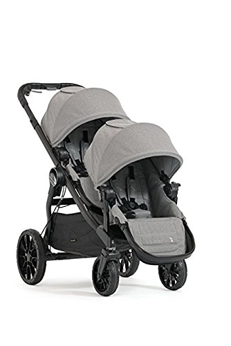 Baby Jogger 2017 City Select LUX Double Stroller - New Model (Slate)