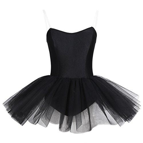 0c28fb0b3ee5 Amazon.com  iiniim Women s Ballet Tutu Costume Black Swan Lake Dance ...