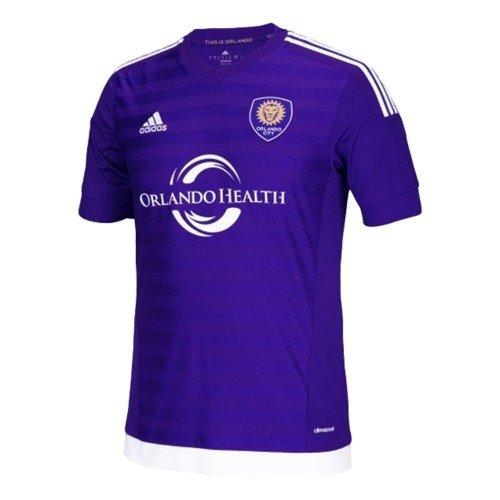 MLS Orlando City SC Men's Replica Short Sleeve Team Jersey, Regal Purple, Large
