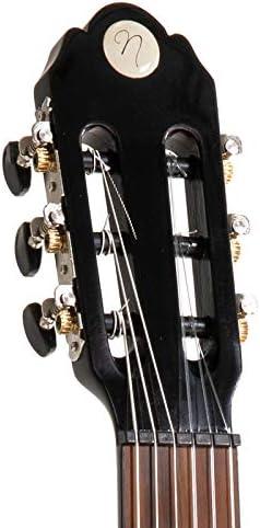 nero NAVARRA special dark moon NV112 chitarra classica 1//2