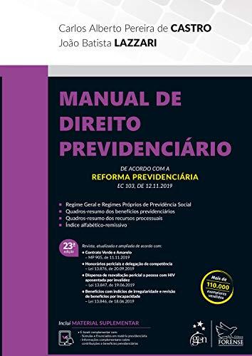 Manual Direito Previdenciário Alberto Pereira ebook