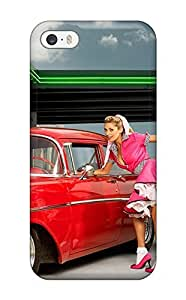 Fashion LOtbkBg995xKecY Case Cover For Iphone 5/5s(girls And Vehicles Cars Other)