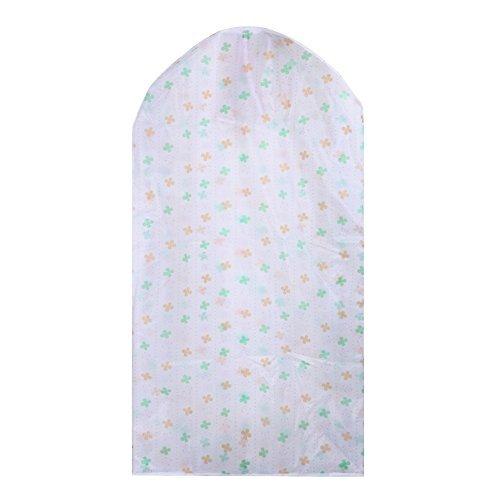 Greensun(TM) Large Capacity Cloth Hanging Suit Coat Dustproof Cover Protector Wardrobe Storage Bag (6030110cm) (Type B)
