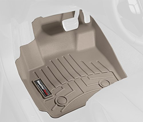 WeatherTech Custom Fit Front FloorLiner for Lexus RX, Tan