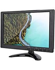 """10.1"""" Inch TFT LCD Monitor with HDMI/VGA/AV Input, Universal 1280X800 16:10 HD Color Screen Display Built-in Speaker Widescreen Monitor Plug and Play Large Gaming Computer Monitors(AU)"""