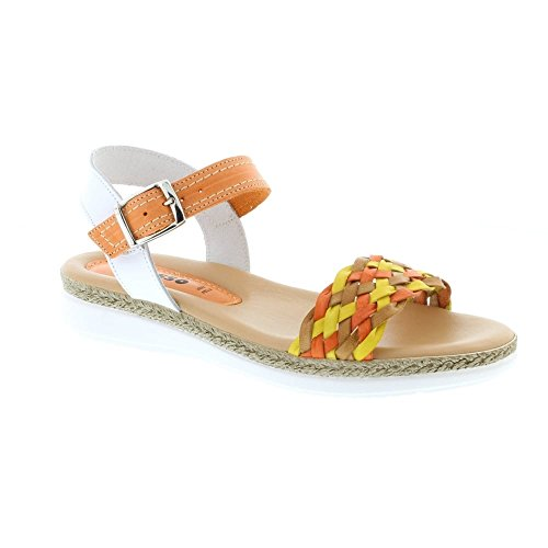 Multi Tasha Adesso Orange Tasha Adensco Orange Adensco Sandals Womens Adesso xq07wCAvnE