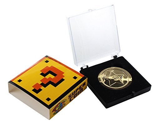 Super Mario Bros. Gold Coin with Gift Box