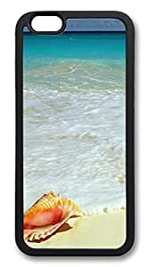 iphone 6 4.7inch Case Sea Shell by the Sea Shore TPU Custom iphone 6 4.7inch Case Cover black