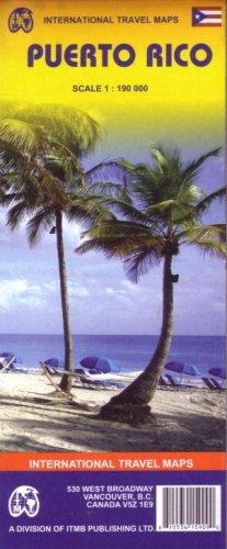 Puerto Rico 1:190,000 Travel Map 2007...