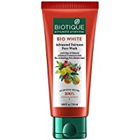 Biotique Bio White Advanced Fairness Face Wash, 150ml