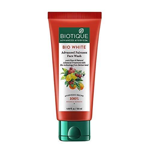 Biotique Bio White Advanced Fairness Face Wash, 150ml: Amazon.in: Beauty
