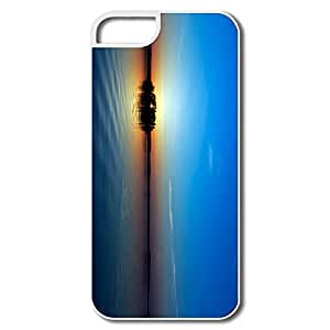Sports Interior Scratch Protection Blue Sunset IPhone 5/5s Case For Birthday Gift