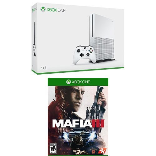Xbox One S 2TB Console - Launch Edition + Mafia 3 Game