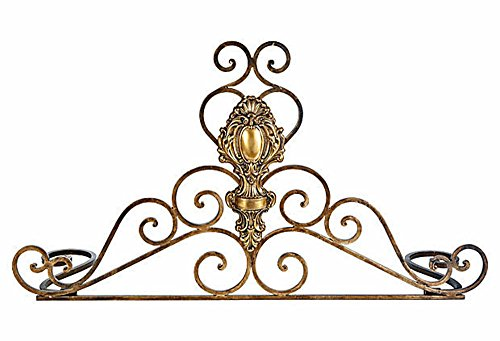 For Sale! FIREPLACE ACCESSORIES - VILLA MEDICI DECORATIVE FIREPLACE FENDER