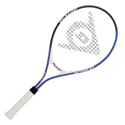 Dunlop Sports Action 27-Inch Pre-Strung Tennis Racquet (3/8 Grip)
