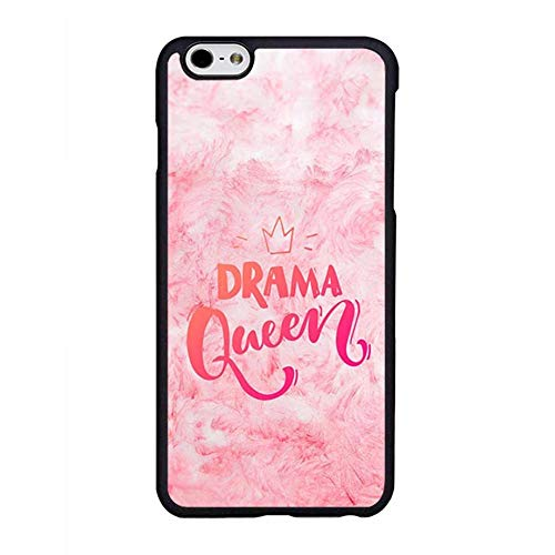 FIDIKO Drama Queen Phone Shell Compatible iPhone 6s Plus, Retro Hard Plastic Durable | Anti Dust Phone case Compatible iPhone 6 Plus/iPhone 6s Plus