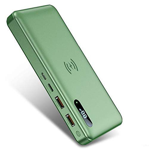 Powerbank 50000 Mah Draagbare Telefoonoplader Met Ultrahoge Capaciteit Met Pd 15 W Draadloos Opladen, Pd 65 W Snel…