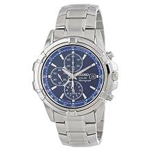 Seiko Men's SSC141 Chronograph Solar Dress Sports Japanese Quartz Watch