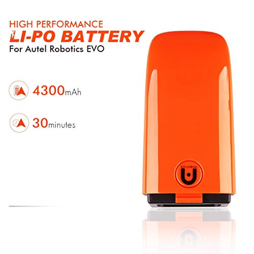 Autel Robotics EVO 13.05V Li-Po Battery 4300mAh Power Bank Up...