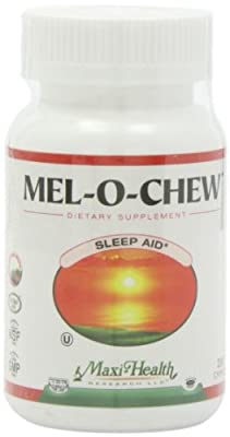 Maxi Health Mel-O-Chew Chewable Melatonin Sleep Aid