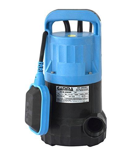 Bomba de Água Submersível, Gamma Ferramentas, 3694BR1, Azul