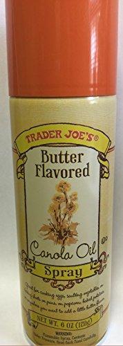 Trader Joe's Butter Flavored Canola Oil Spray 6oz (One Can) (Butter Flavored Spray compare prices)
