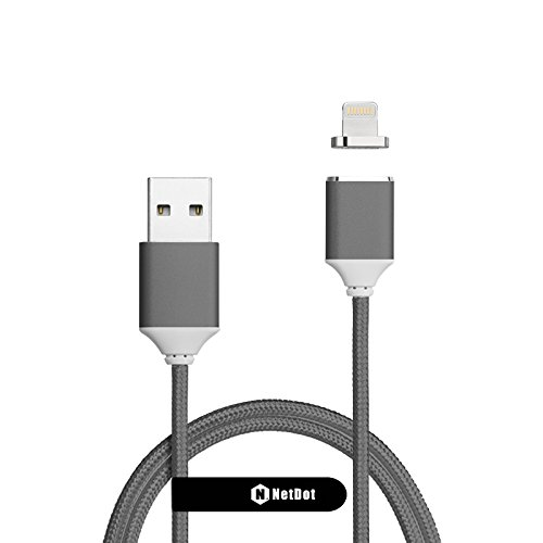 68 opinioni per Netdot, cavo di ricarica magnetico, con uscita USB, per iPhone 5, 5C, 5S, SE, 6,