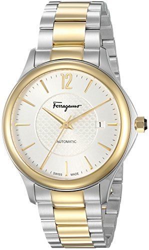 Salvatore-Ferragamo-Mens-Time-Automatic-Swiss-Quartz-Stainless-Steel-Casual-Watch-ColorTwo-Tone-Model-FFT040016
