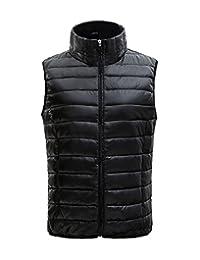 SUNDAYROSE Sleeveless Jacket Womens Lightweight Packable Puffer Down Vest