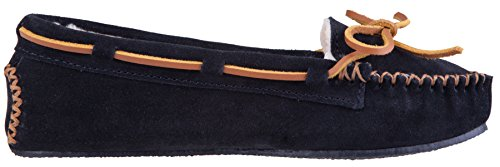 Faux Women's Tan Minnetonka Black Cally Fur Slipper FzWBwq