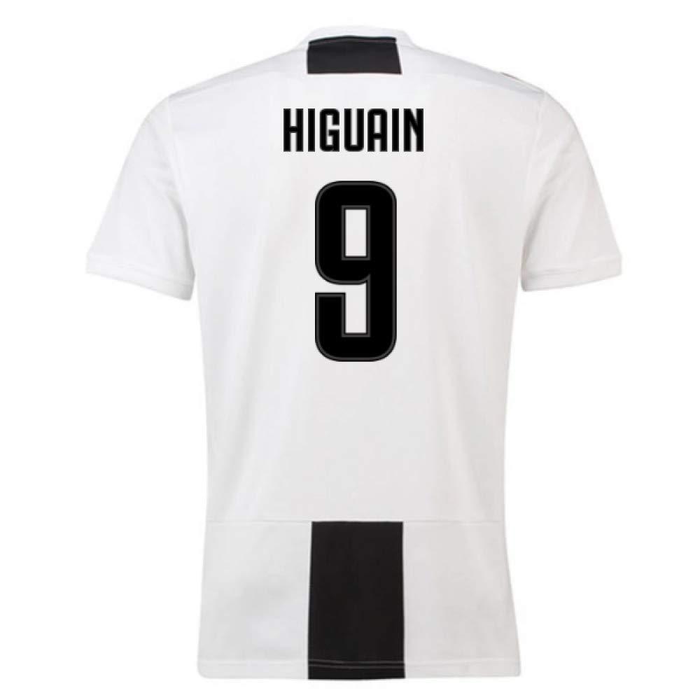 1e431841a 2018-19 Juventus Home Football Soccer T-Shirt Trikot (Gonzalo Higuain 9)