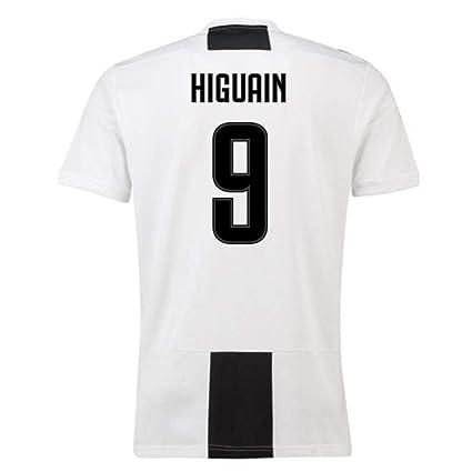 low priced f6ee9 eedb5 Amazon.com : 2018-19 Juventus Home Football Soccer T-Shirt ...