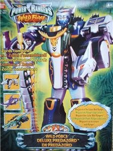 Power rangers wild force deluxe dx predazord megazord amazon power rangers wild force deluxe dx predazord megazord altavistaventures Choice Image