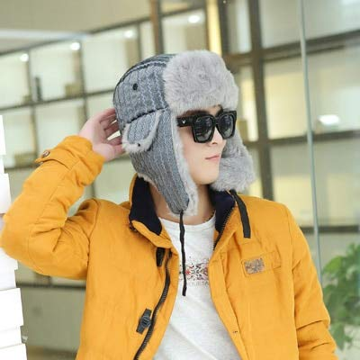 Autumn Water Winter Bomber Hats with S Stripes Earflap Cap Unisex Aviator Hat Outdoor