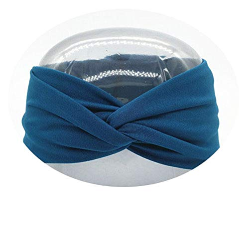 6f7663ed558814 Twist Turban Headband For Women Bows Elastic Sport Hairbands Head Band Yoga  Headbands Headwear Headwrap Girls
