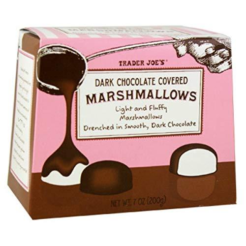 Trader Joe's Dark Chocolate Covered Marshmallows