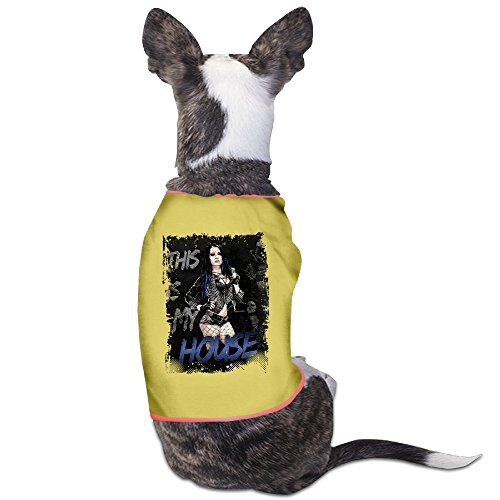 [LOVE-Funny Paige Wrestler Saying This Is My House Pet Dog Shirts.] (Elvis Presley Dog Costumes)