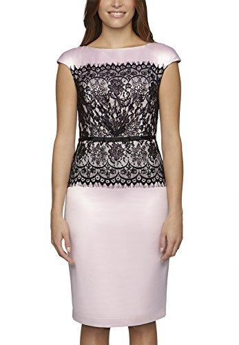 APART Fashion 66122 - Vestido Mujer Rosa / Negro
