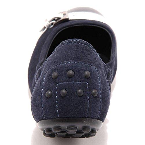 Donna Scarpa Shoes Ballerina Multicolore fibbietta Argento dee Tod's Women 3906G Nero blu xH1ZEw