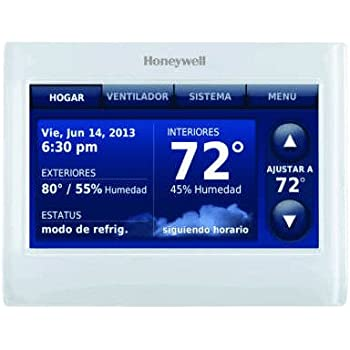 honeywell thx9421r5021ww redlink prestige iaq color touchscreen thermostat