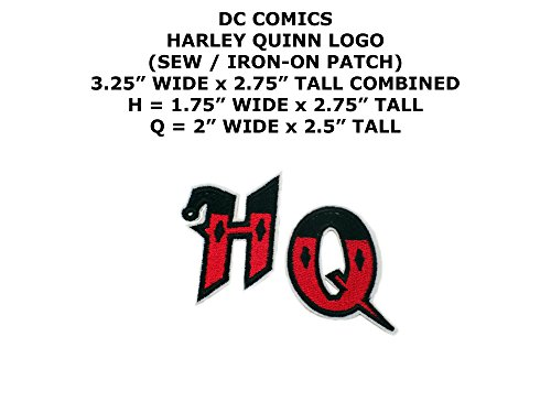DC Comics Harley Quinn Super Hero DIY Embroidered Sew or Iron-on Applique Patch Outlander Gear for $<!--$5.98-->