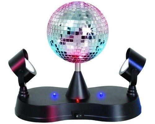 Lumisource LS-MIR MADNESS Energy Saving Mirror Disco Ball Strobe by LumiSource (Image #1)