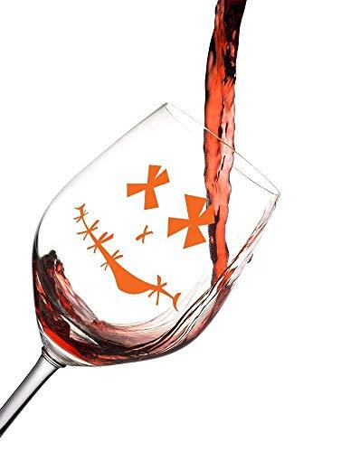 (Halloween Wine Glass Mr. Hangover)