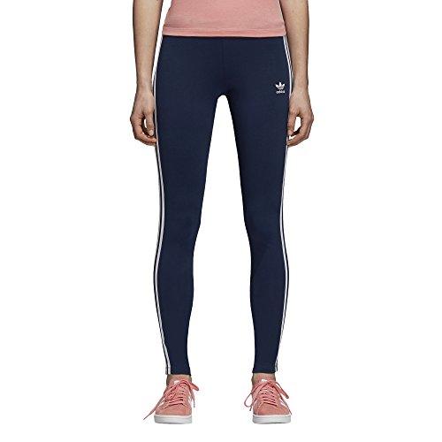 adidas Originals Women's 3-Stripes Leggings, Collegiate Navy, XL