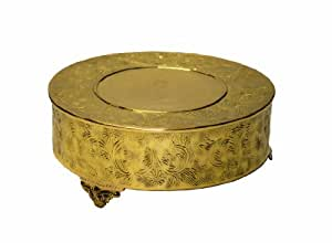 18 round gold wedding cake stand classic wedding anniversary gold cake stand 10077