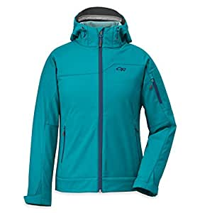 Outdoor Research Women's Transfer Hoody, Alpine Lake/Abyss/Pool, X-Small
