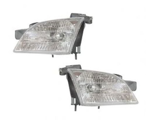 1997-2005 Chevy Venture Headlight Assembly (1998 1999 2000 2001 2002 2003 2004 97 98 99 00 01 02 03 04 05) - One Pair(Both Driver and Passenger Sides) - DOT Certified Headlight ()