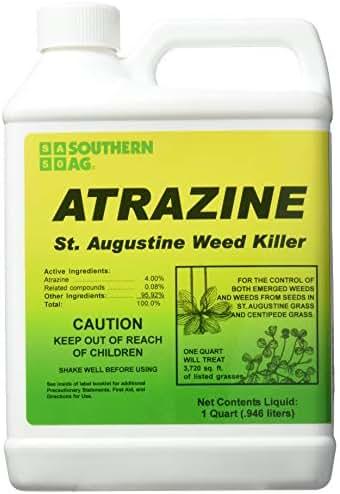 Southern Ag 006130 Atrazine St. Augustine Weed Killer 32oz Specialty Herbicide